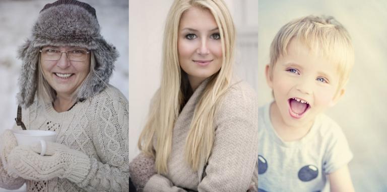 Porträttfotografering till förmån för Musikhjälpen 2013
