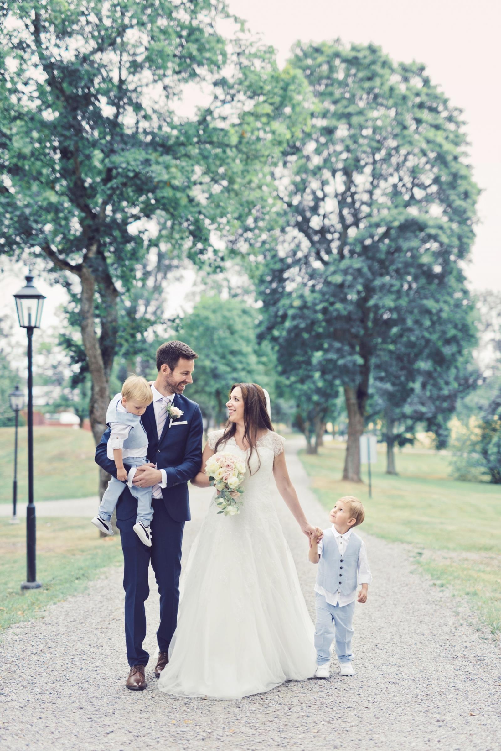 Bröllopsfotograf Stockholm Villa Aske