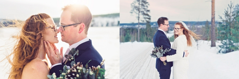 vinterbröllop bröllopsfotograf vinter