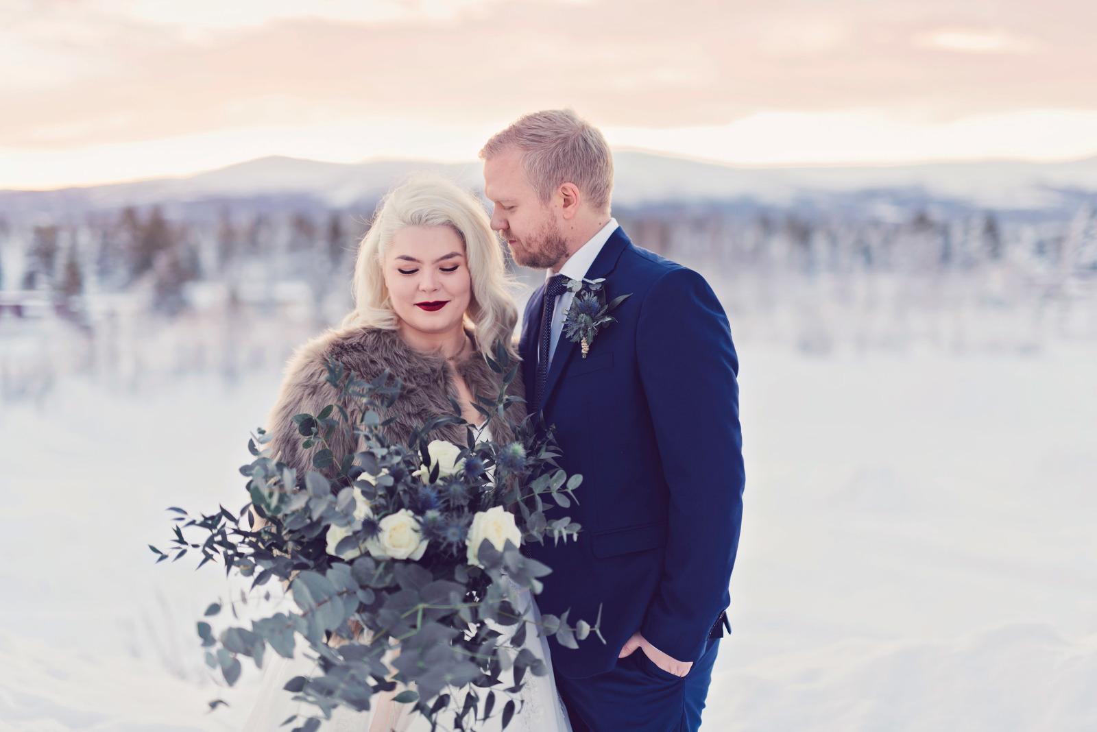 Bröllopsfotograf Gällivare Umeå